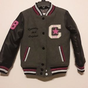 Converse Girls Lettetman Jacket